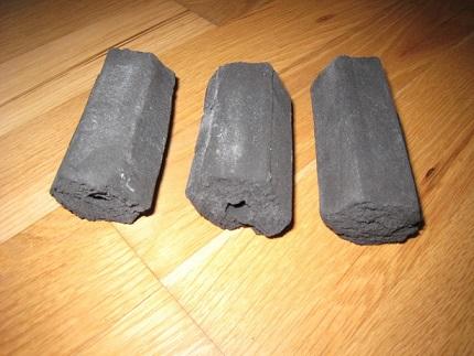 Rice Husk Charcoal briquette1