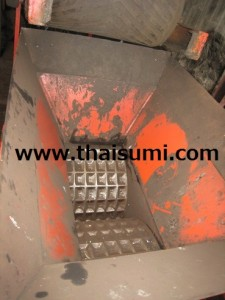 Chinese Briquette Press machine, installed at Thai Sumi's customer's site (not Thai Sumi machine).