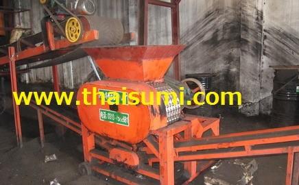 Chinese Briquette Press machine, installed at Thai Sumi's customer's site (not Thai Sumi machine).