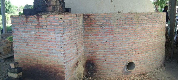 Brick type kiln - Iwate